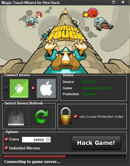Magic Touch Wizard for Hire Hack Tool