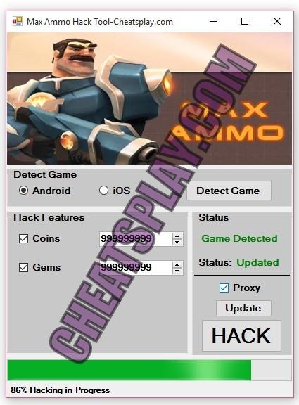 Max Ammo Hack Tool