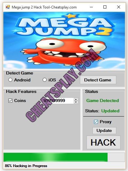 Mega jump 2 Hack Tool