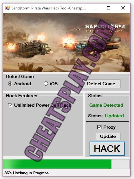 Sandstorm Pirate Wars Hack Tool