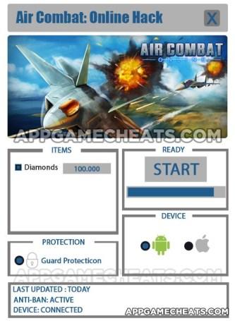 Air Combat: Online Hack