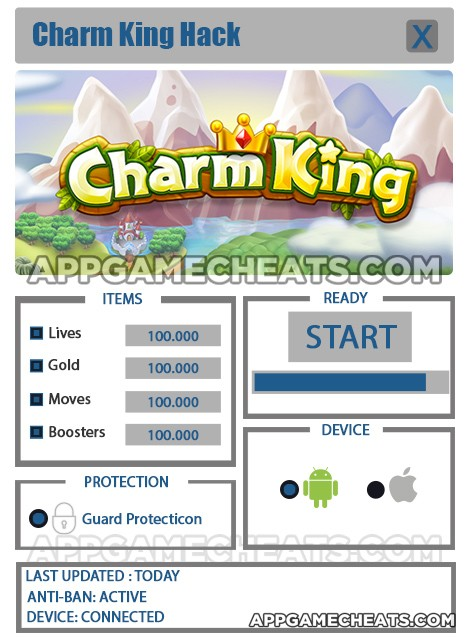 charm-king-cheats-hack-lives-gold-moves-boosters