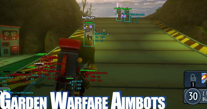 pvz garden warfare aimbots