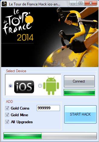 Free game Tour de France 2014 hack