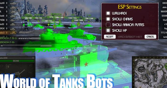 World of Tanks Cheats, WoT Bots