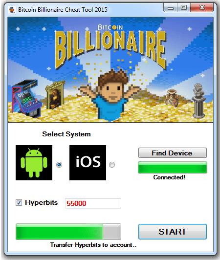 Billionaire Hack Tool