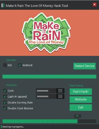 Make It Rain Love of Money Hack Tool