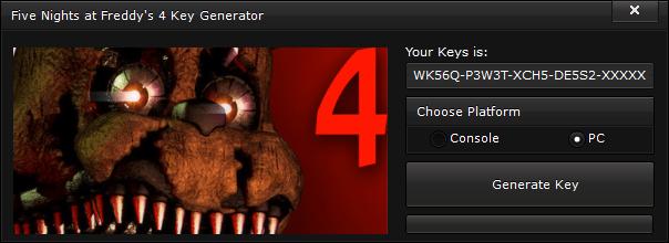five nights at freddys 4 key generator free activation code 2015 Five Nights at Freddy's 4 Key Generator – FREE Activation Code 2015