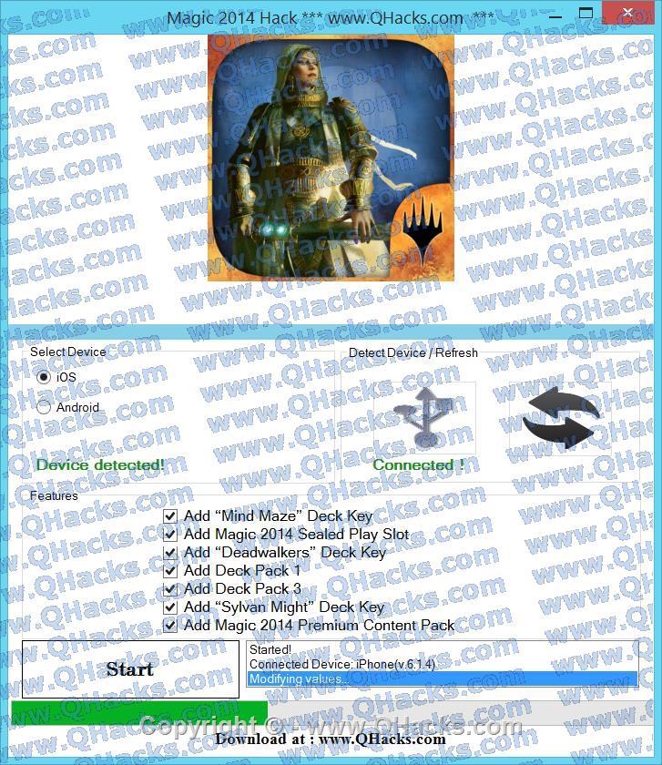 Magic Hack Cheats and Tricks Add Magic Sealed Play Slot # Add Deck Pack 1