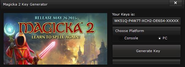 magicka 2 key generator free activation code 2015 Magicka 2 Key Generator – FREE Activation Code 2015