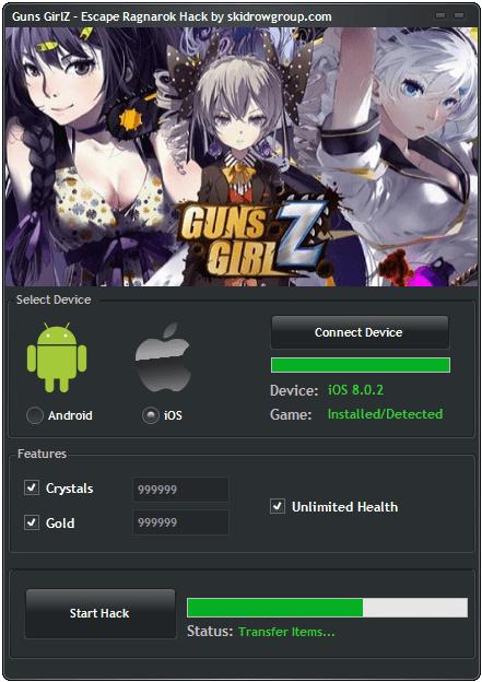 Guns GirlZ Escape Ragnarok Hack