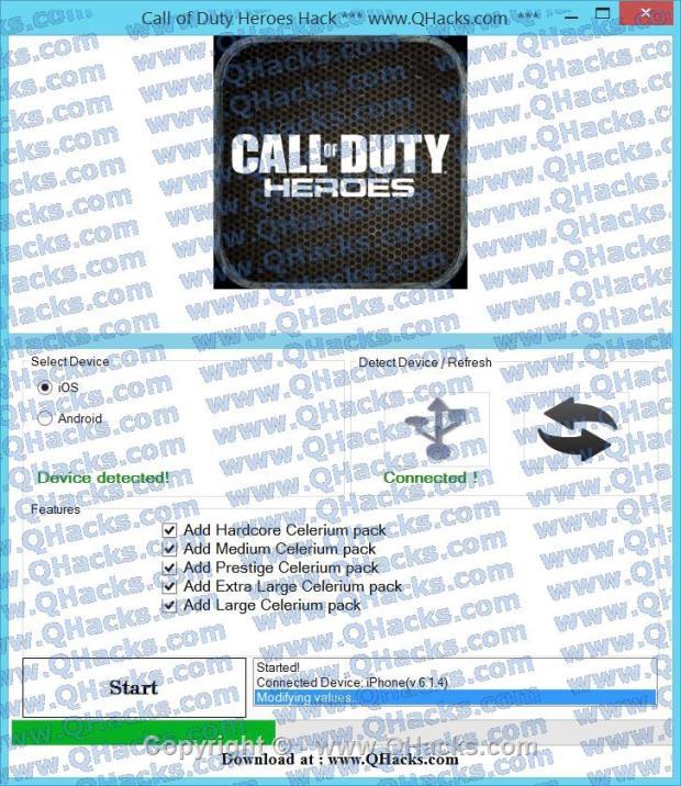 Call of Duty Heroes hacks