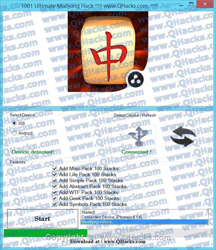 1001 Ultimate Mahjong hacks