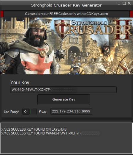 Stronghold Crusader 2 cd key