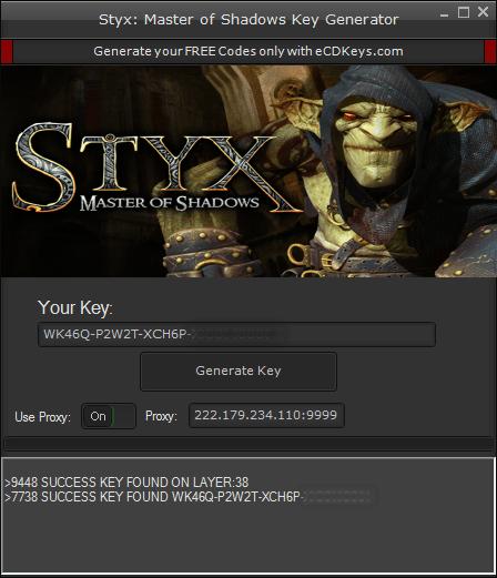 Styx: Master of Shadows cd key
