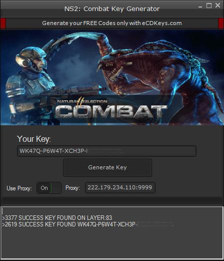 NS2: Combat cd-key
