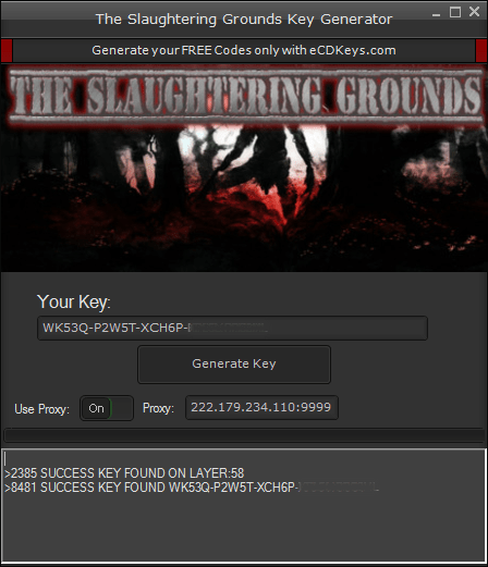 The Slaughtering Grounds cd-key