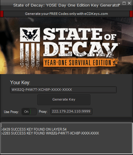 State of Decay: YOSE Day One Edition cd-key
