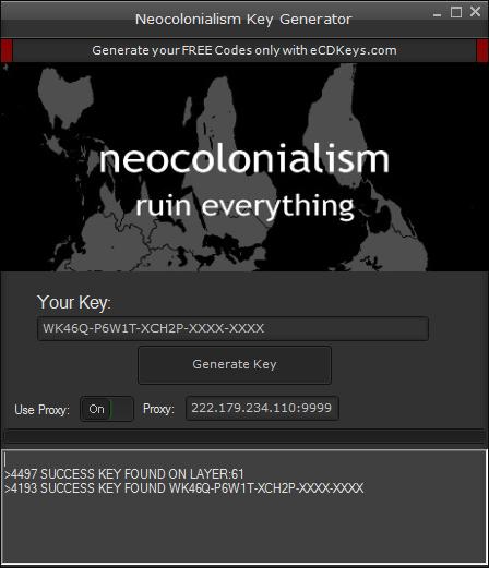 Neocolonialism cd-key