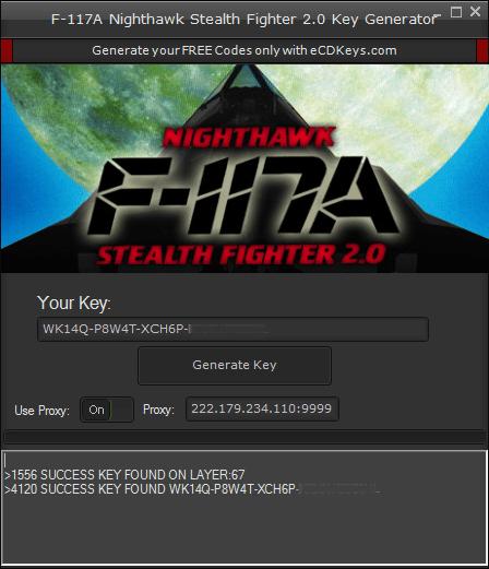 F-117A Nighthawk Stealth Fighter 2.0 cd-key