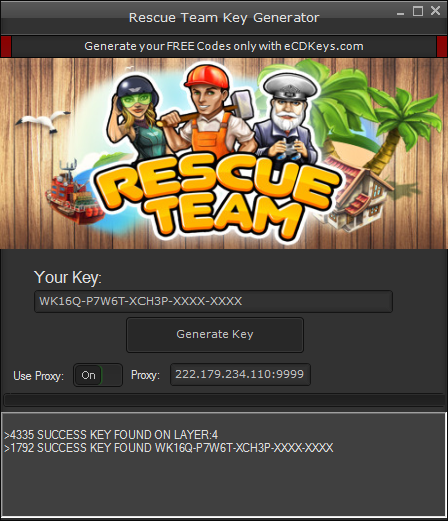 Rescue Team cd-key