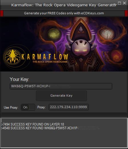Karmaflow: The Rock Opera Videogame cd-key