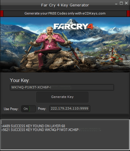 Far Cry 4 cd key