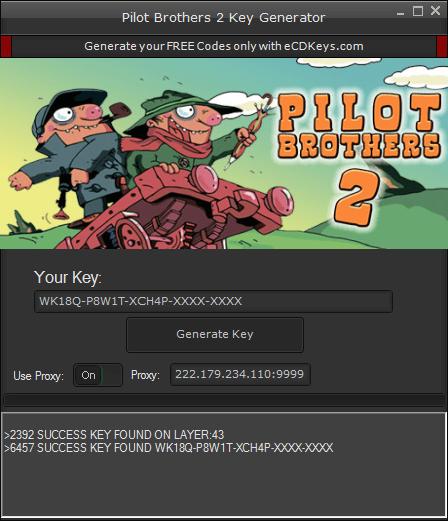 Pilot Brothers 2 cd-key