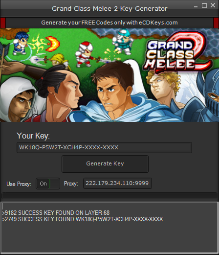 Grand Class Melee 2 cd-key