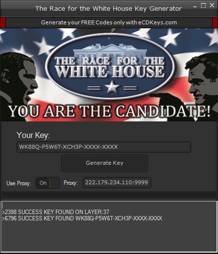 The Race for the White House cd-key