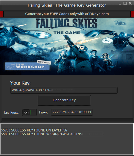 Falling Skies: The Game cd-key