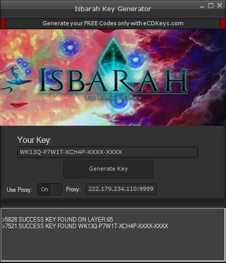 Isbarah cd-key