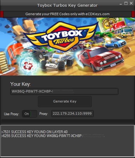 Toybox Turbos cd-key