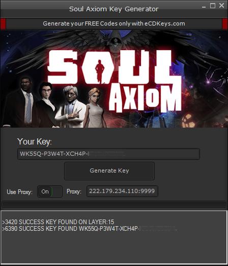 Soul Axiom cd-key