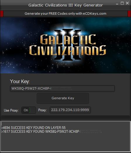 Galactic Civilizations III cd key