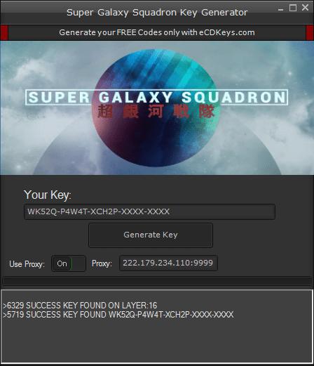Super Galaxy Squadron cd-key