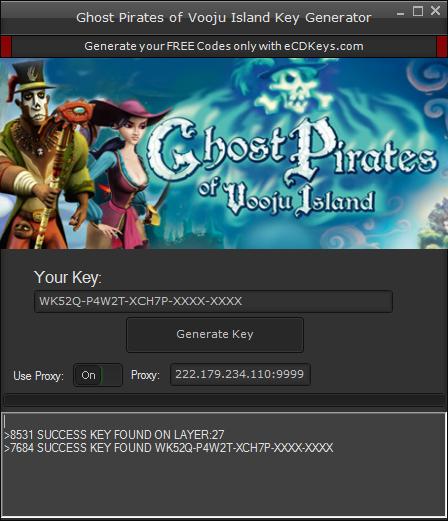 Ghost Pirates of Vooju Island cd-key