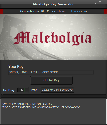 Malebolgia cd-key