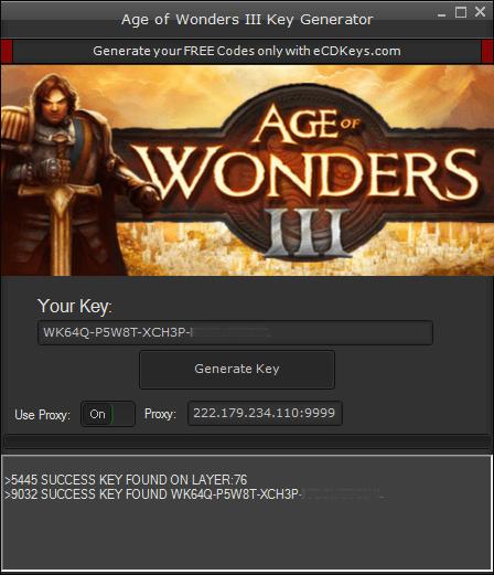 Age of Wonders III cd-key