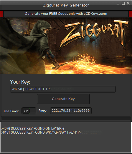 Ziggurat cd-key