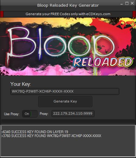 Bloop Reloaded cd-key