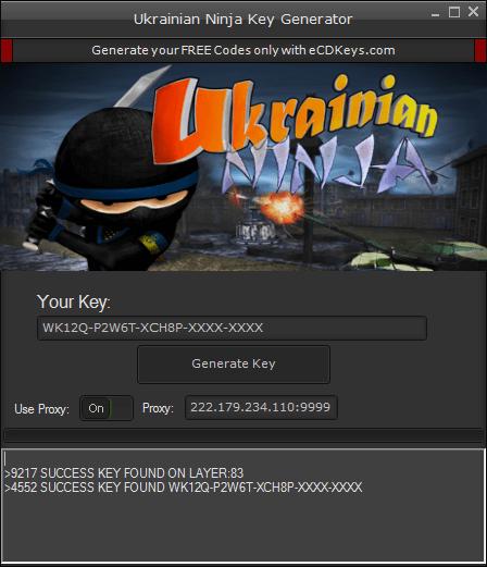 Ukrainian Ninja cd-key