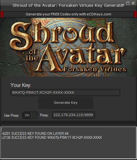 Shroud of the Avatar: Forsaken Virtues cd-key