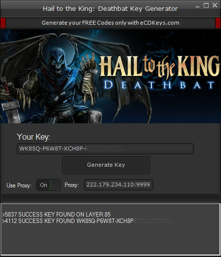 Hail to the King: Deathbat cd-key