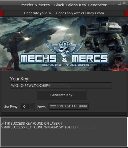 Mechs & Mercs - Black Talons cd-key