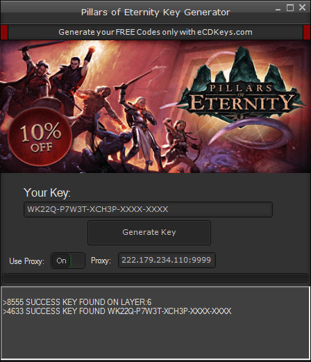 Pillars of Eternity cd-key