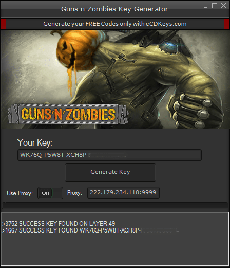 Guns n Zombies cd-key