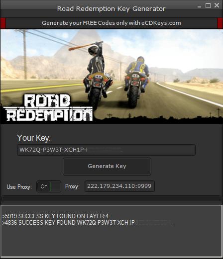 Road Redemption cd-key