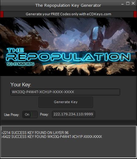 The Repopulation cd-key
