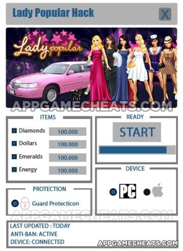 Lady Popular Hack
